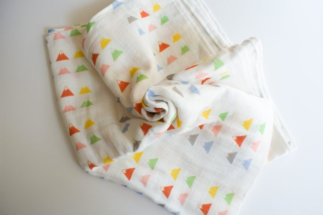 muslin baby organic cloth organic cotton baby diaper mountains baby swaddle